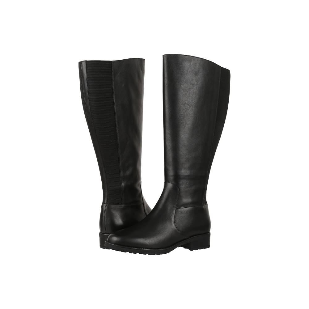 サス レディース シューズ・靴 ブーツ【Duchess Wide Calf】Black