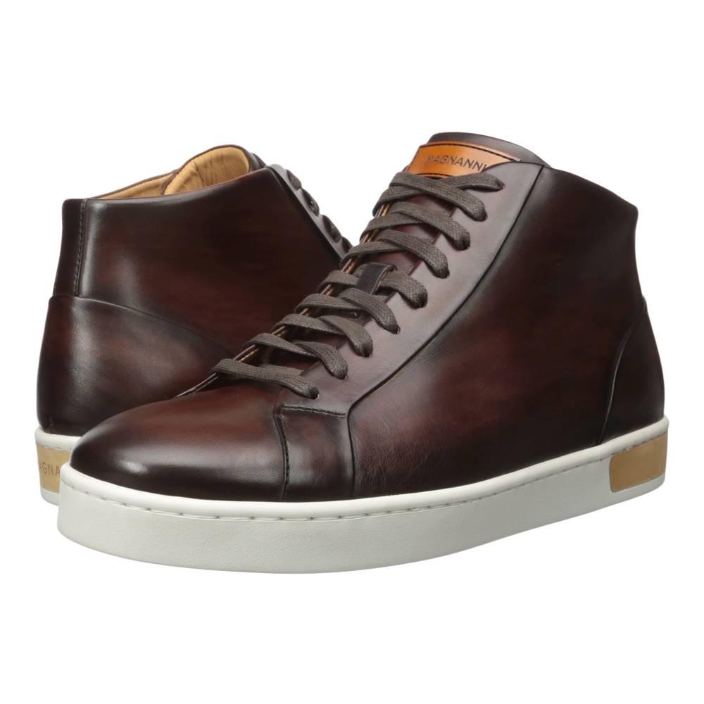 マグナーニ メンズ シューズ・靴 スニーカー【Caden】Mid Brown