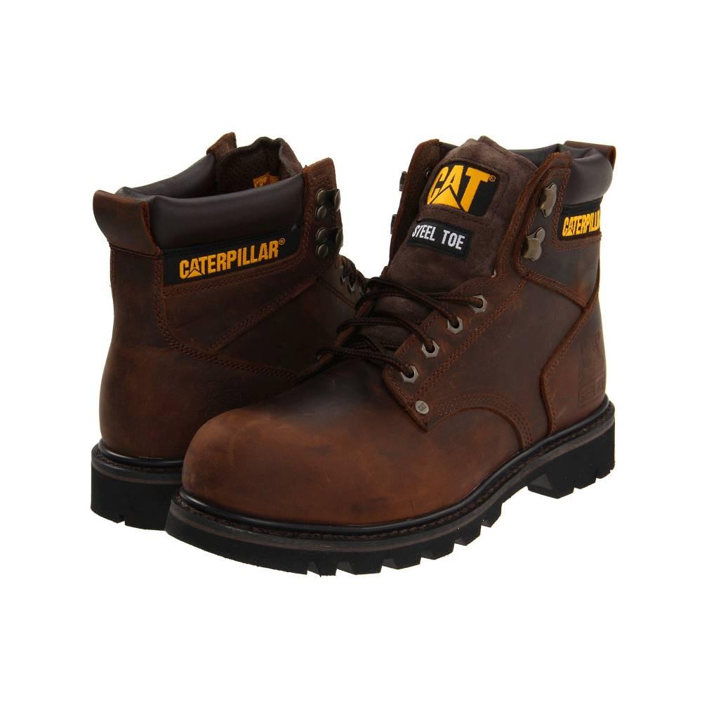 キャピタラー カジュアル メンズ シューズ・靴 ブーツ【2nd Shift Steel Toe】Dark Brown Leather