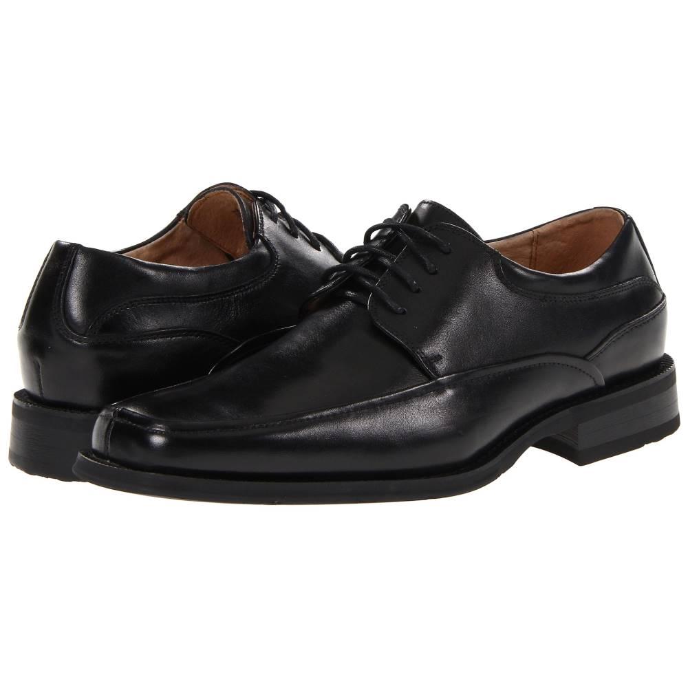 フローシャイム メンズ シューズ・靴 革靴・ビジネスシューズ【Cortland Moc Toe Oxford】Black Buffalo Leather