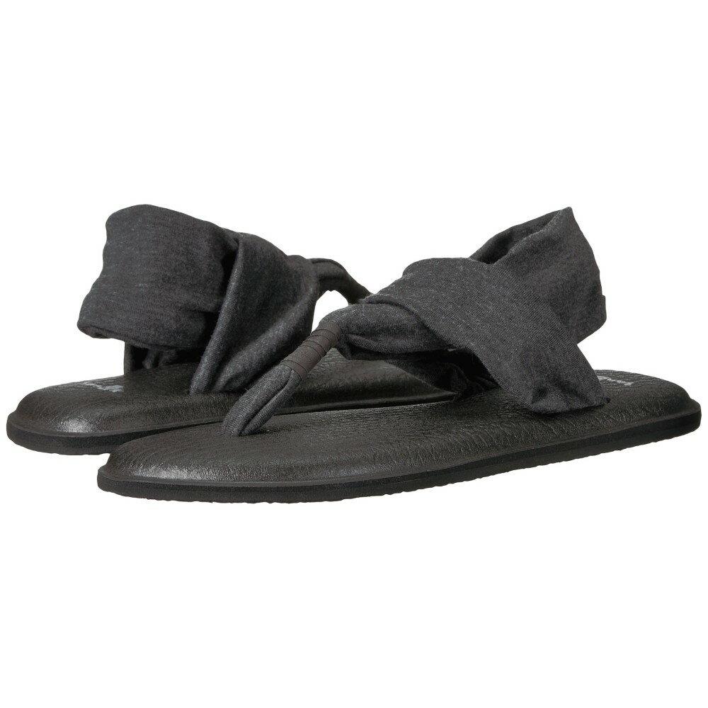 サヌーク レディース シューズ・靴 サンダル・ミュール【Yoga Sling 2】Charcoal