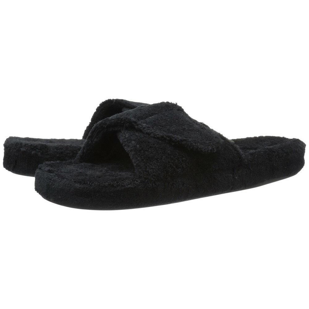 エーコーン レディース シューズ・靴 スリッパ【Spa Slide II】Black