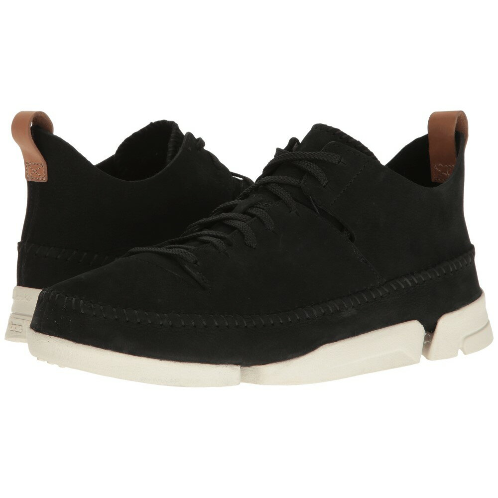 クラークス メンズ シューズ・靴 スニーカー【Trigenic Flex】Black Nubuck