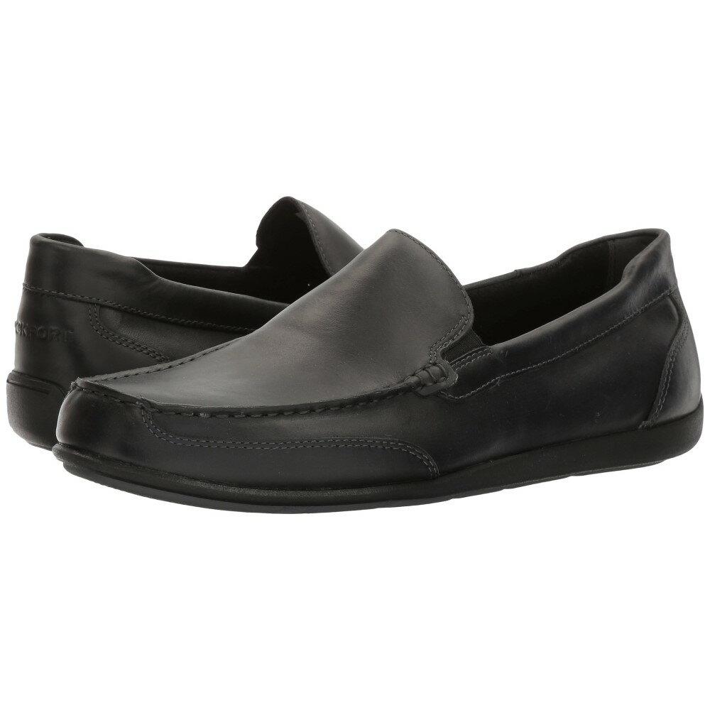 ロックポート メンズ シューズ・靴 ローファー【Bennett Lane 4 Venetian】Black Leather