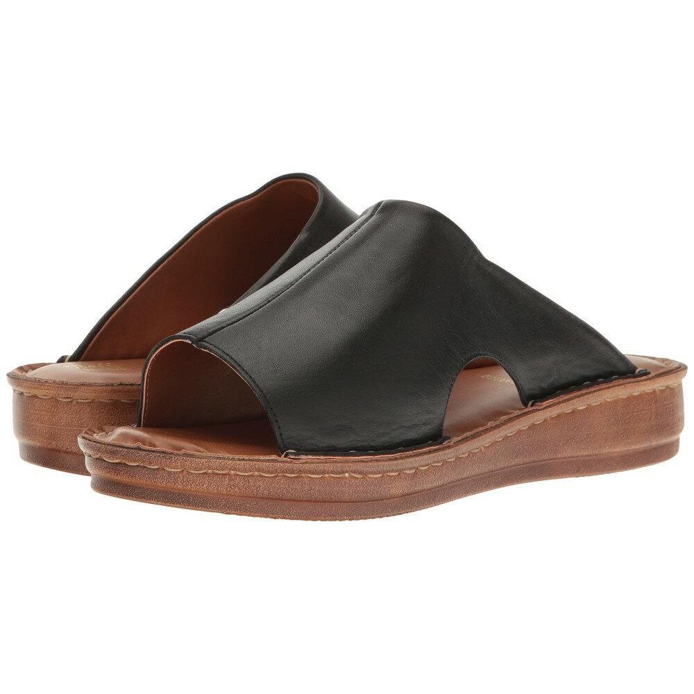 ベラヴィータ レディース シューズ・靴 サンダル・ミュール【Mae-Italy】Black Leather