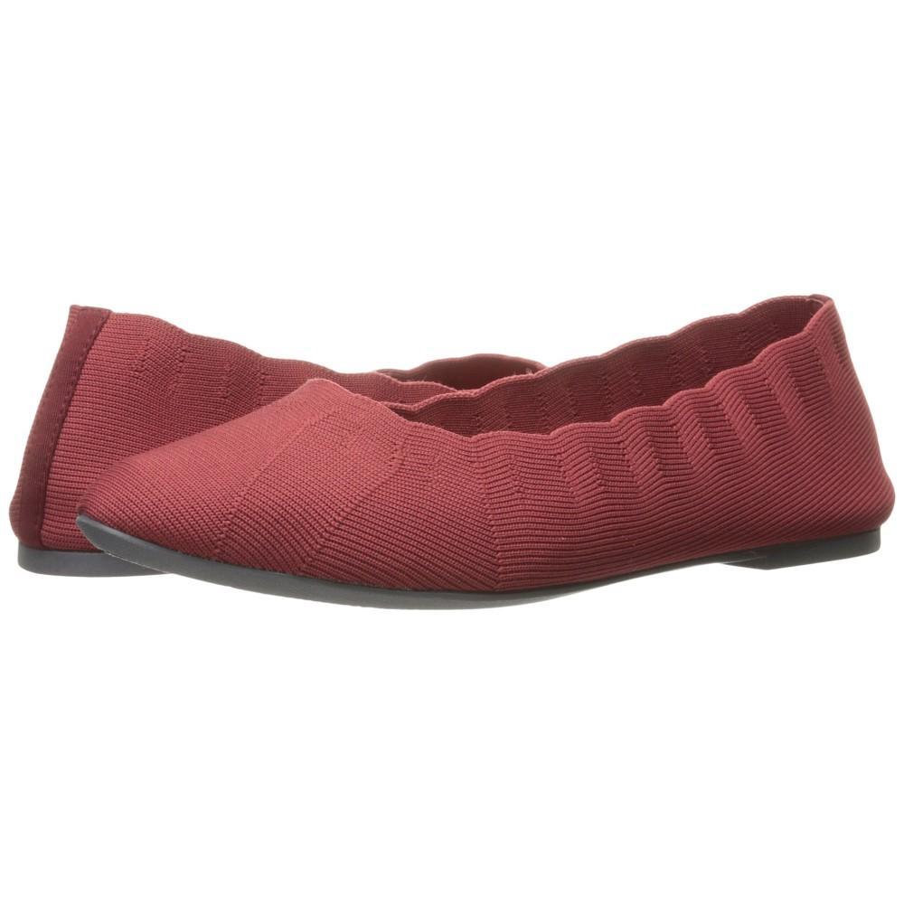 スケッチャーズ レディース シューズ・靴 スリッポン・フラット【Cleo Bewitched - Engineered Knit Skimmer】Red