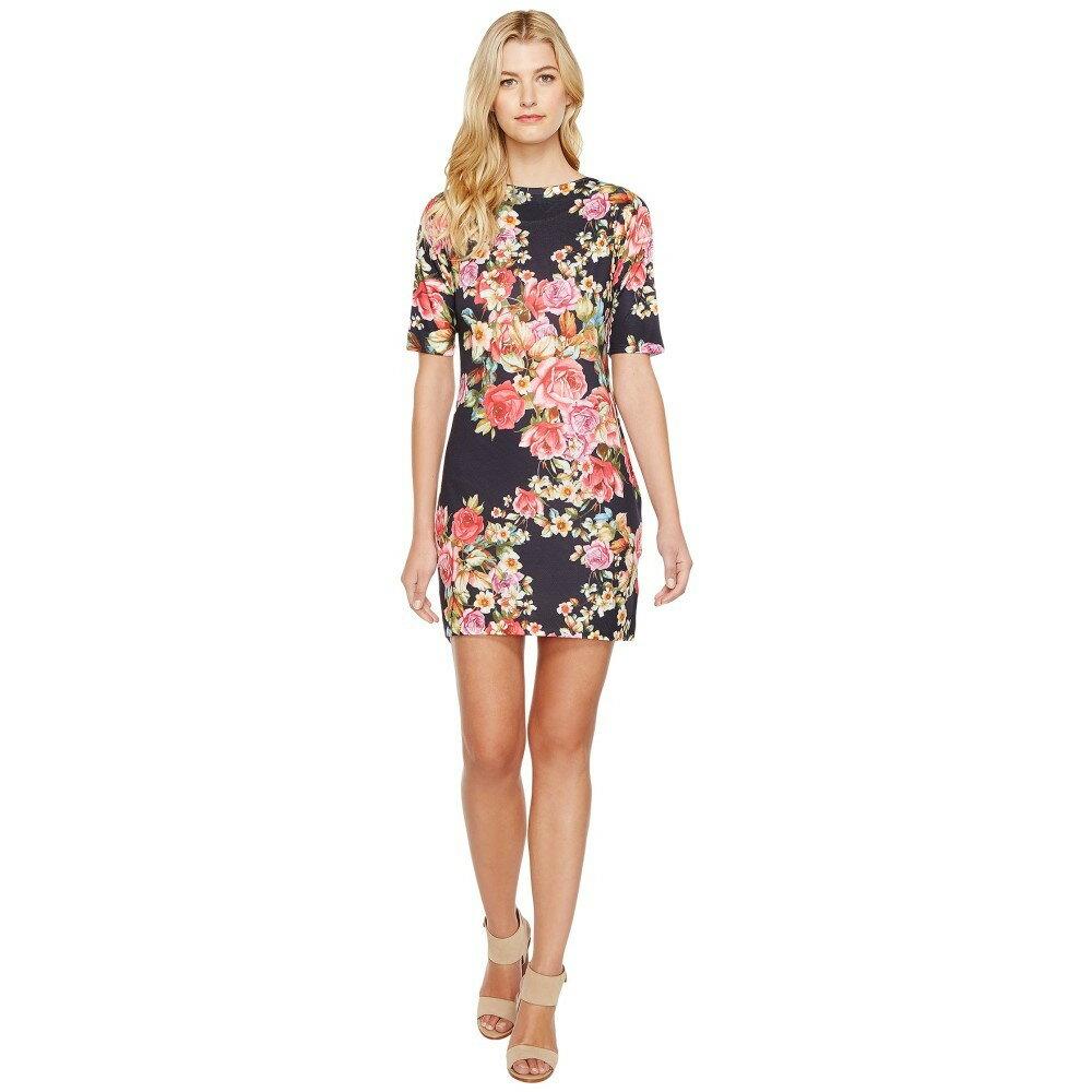 ナリーアンドミリー レディース ワンピース・ドレス ワンピース【Rose Print Dress】Multi