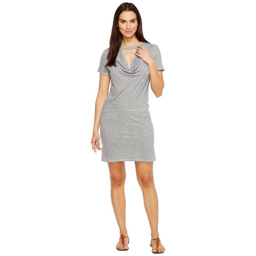 ランストン レディース ワンピース・ドレス ワンピース【Drape Tee Dress】Heather