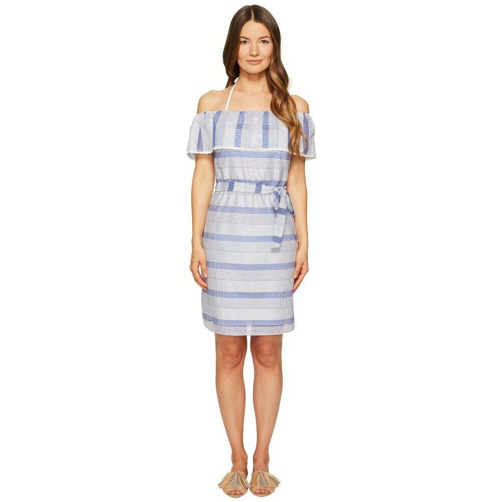 レタルト レディース ワンピース・ドレス ワンピース【Flounce Dress】Blue Multi