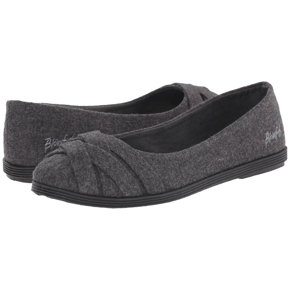 ブローフィッシュ レディース シューズ・靴 スリッポン・フラット【Glo】Grey 2 Tone Flannel