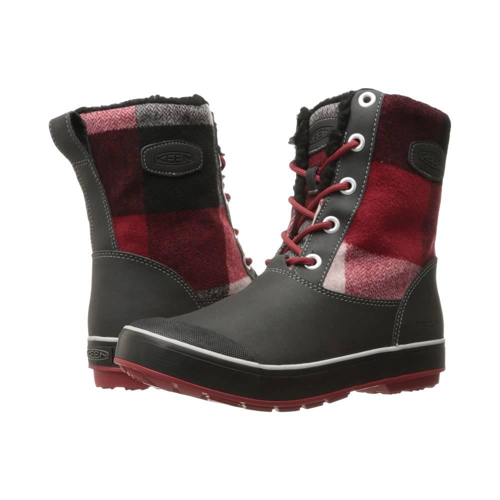 キーン レディース シューズ・靴 ブーツ【Elsa Boot WP】Black/Red Dahlia