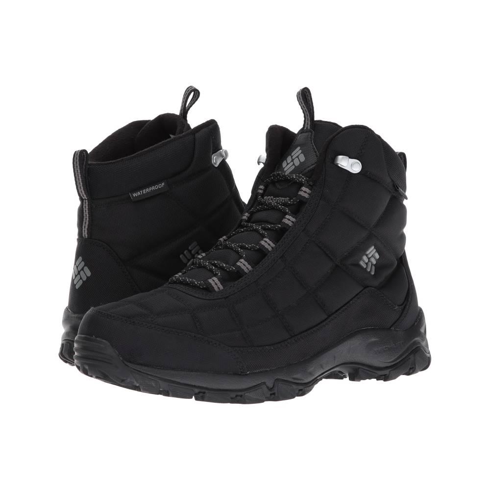 コロンビア メンズ シューズ・靴 ブーツ【Firecamp Boot】Black/City Grey