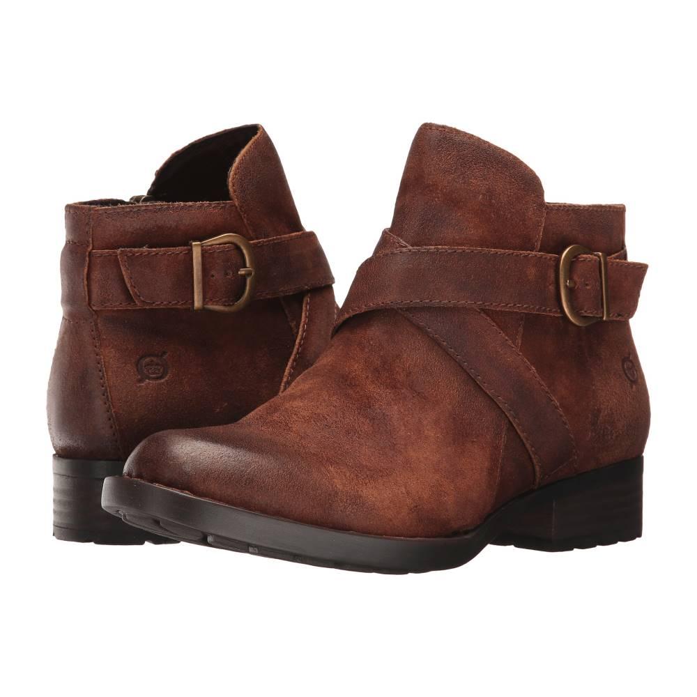 ボーン レディース シューズ・靴 ブーツ【Trinculo】Rust Distressed