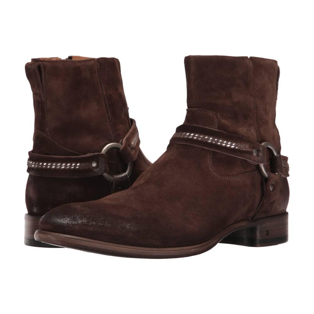 ジョンバルベイトス メンズ シューズ?靴 ブーツ【Eldridge Harness】Dark Brown