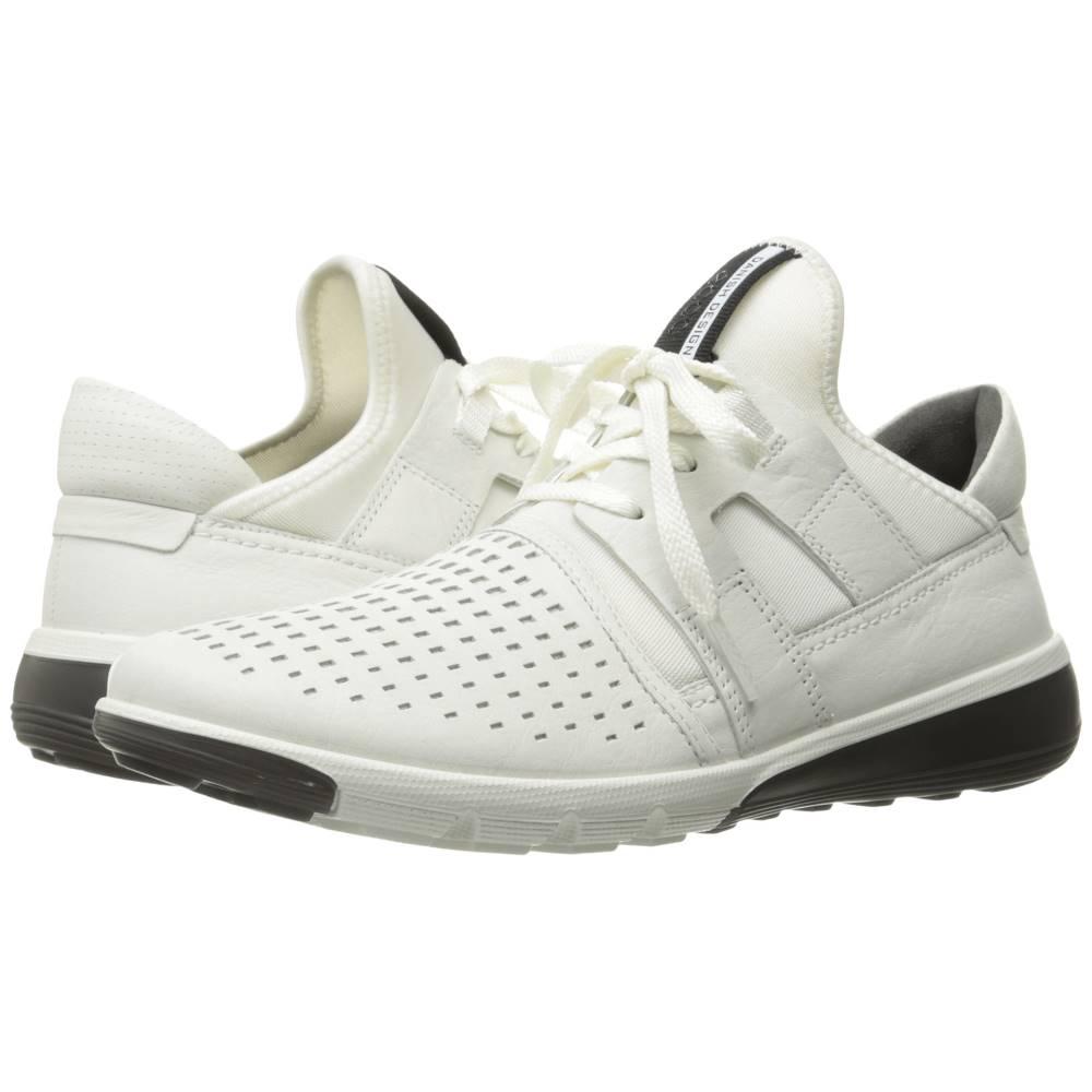 エコー メンズ シューズ・靴 スニーカー【Intrinsic 2 Perforated】White/White