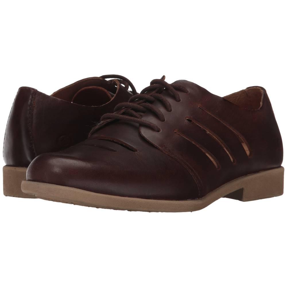 ボーン レディース シューズ・靴 ローファー・オックスフォード【Jakob】Brown Full Grain Leather