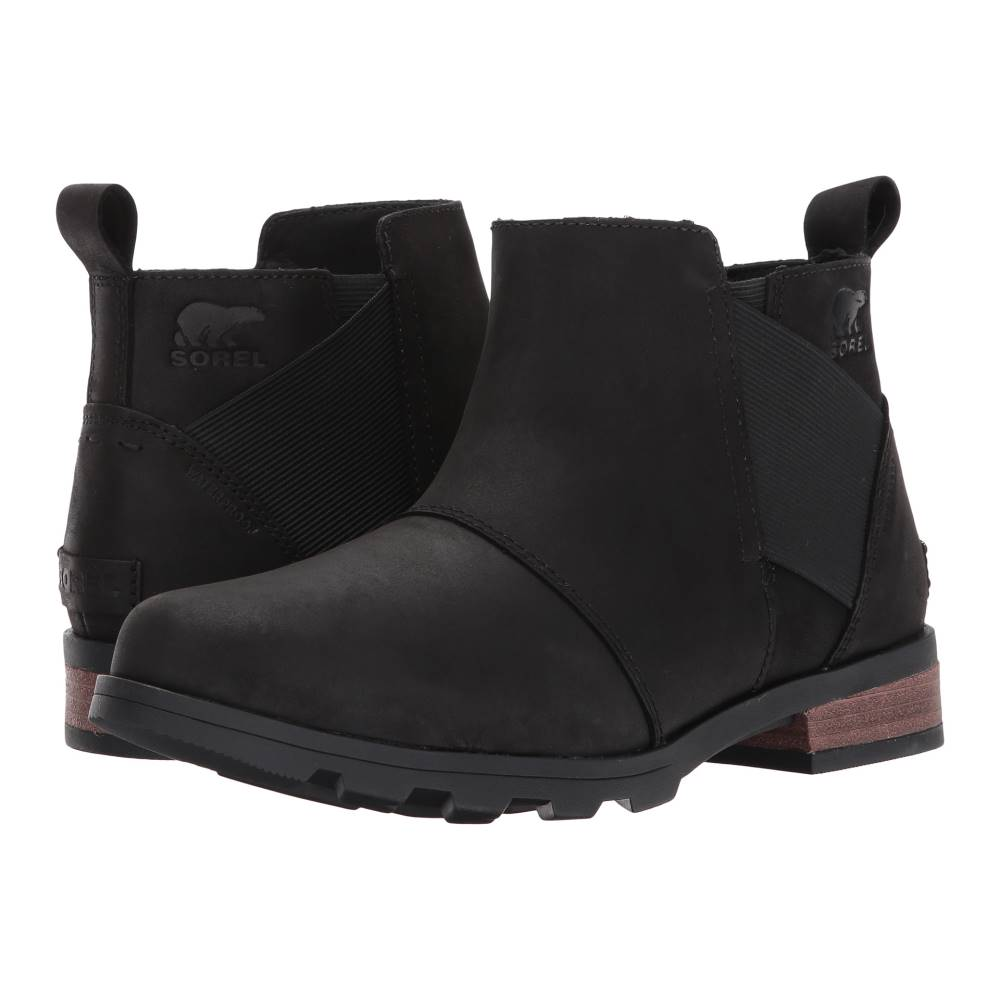 ソレル レディース シューズ・靴 ブーツ【Emelie Chelsea】Black
