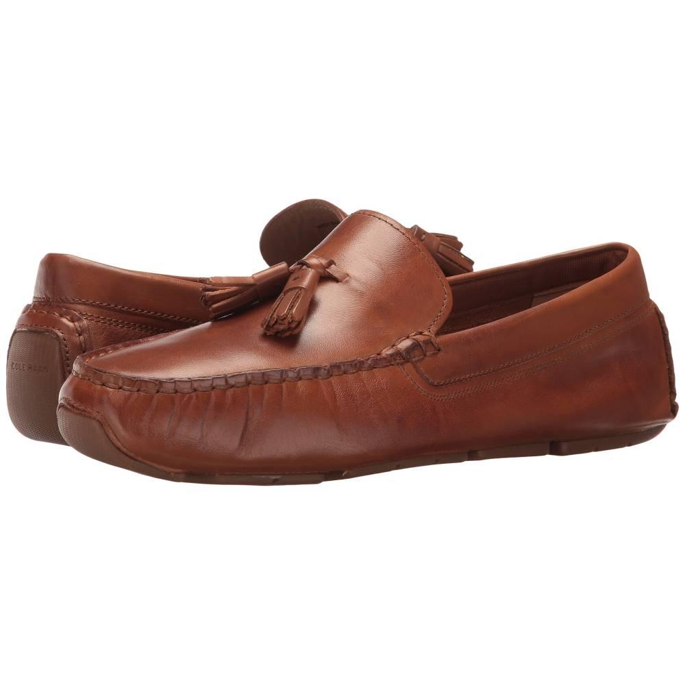 コールハーン レディース シューズ・靴 ローファー・オックスフォード【Rodeo Tassel Driver】Brown Luggage Leather