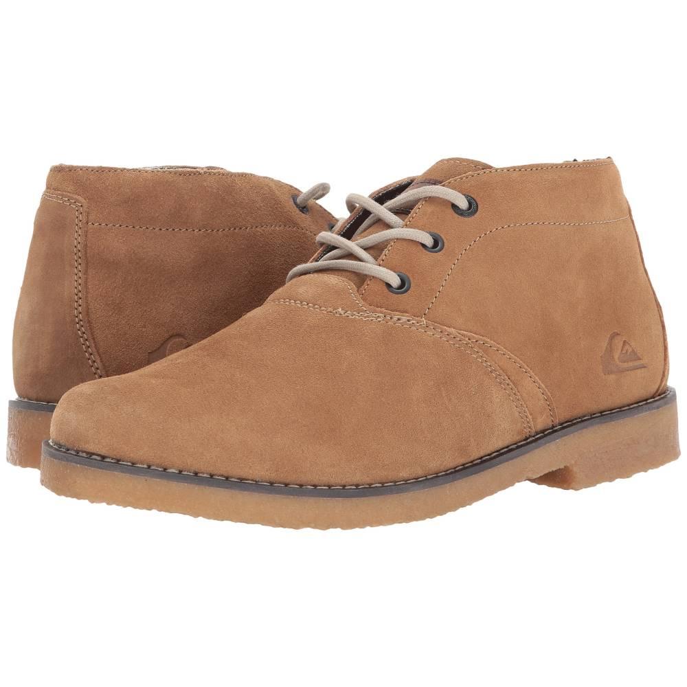 クイックシルバー メンズ シューズ・靴 ブーツ【Harpoon V】Tan Solid
