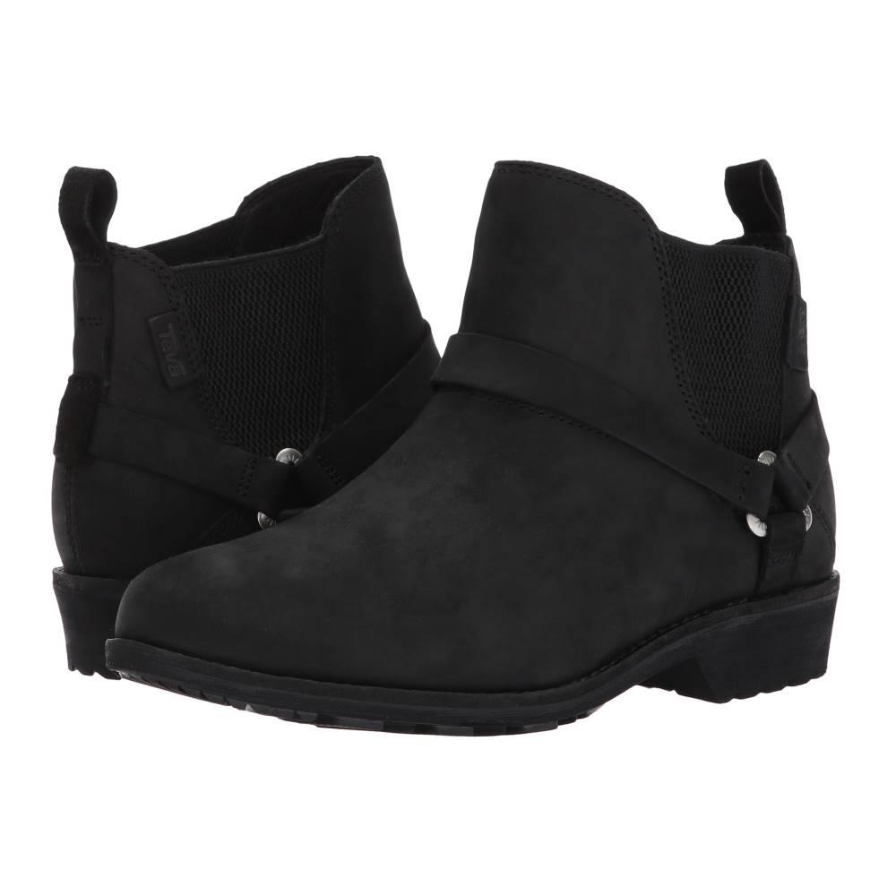 テバ レディース シューズ・靴 ブーツ【De La Vina Dos Chelsea】Black