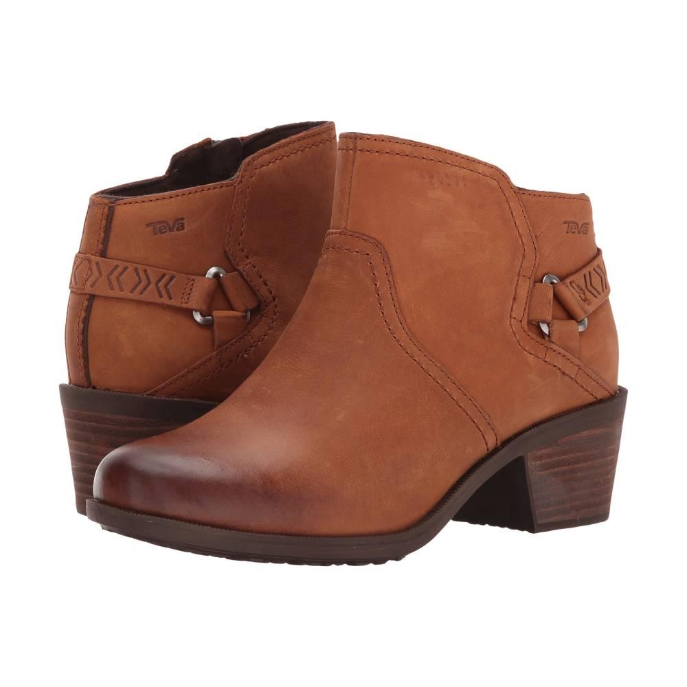 テバ レディース シューズ・靴 ブーツ【Foxy WP】Caramel
