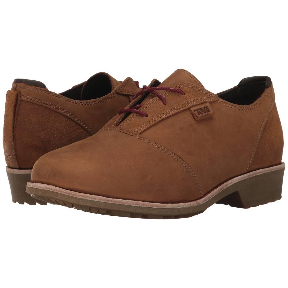 テバ レディース シューズ・靴 ローファー・オックスフォード【De La Vina Dos Shoe】Bison