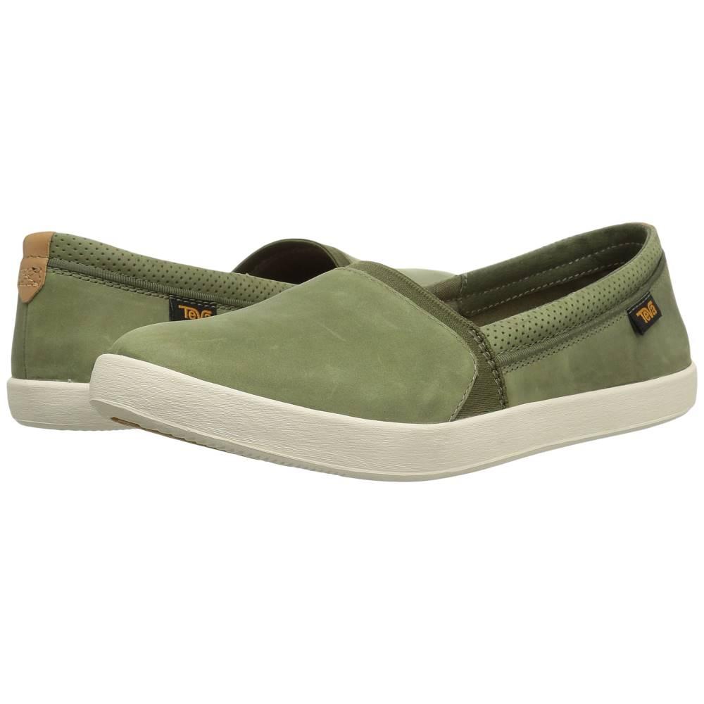 テバ レディース シューズ・靴 スリッポン・フラット【Willow Slip-On】Olive