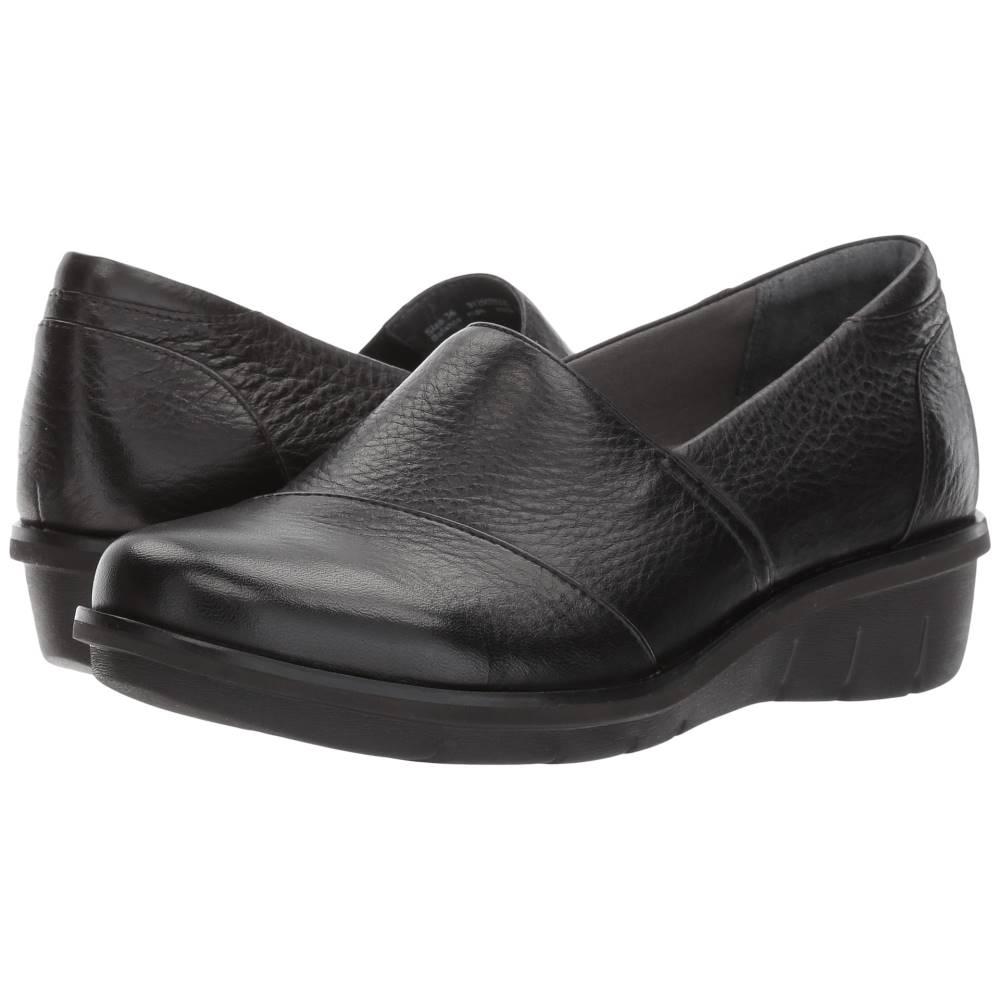 ダンスコ レディース シューズ・靴 ローファー・オックスフォード【Julia】Black Milled Nappa