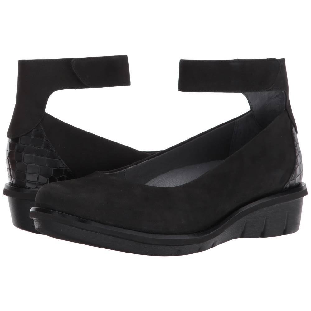 ダンスコ レディース シューズ・靴 ローファー・オックスフォード【Jenna】Black Nubuck