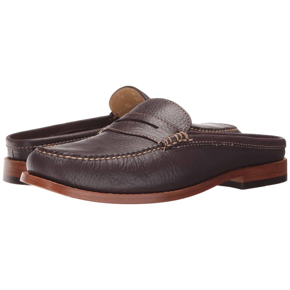 ジーエイチ バス レディース シューズ・靴 ローファー・オックスフォード【Wynn Weejuns】Eggplant Soft Tumbled Leather