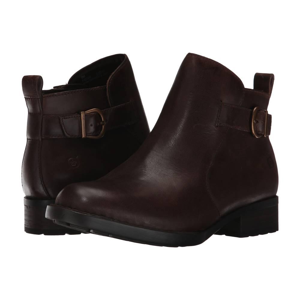 ボーン レディース シューズ・靴 ブーツ【Timms】Brown Full Grain
