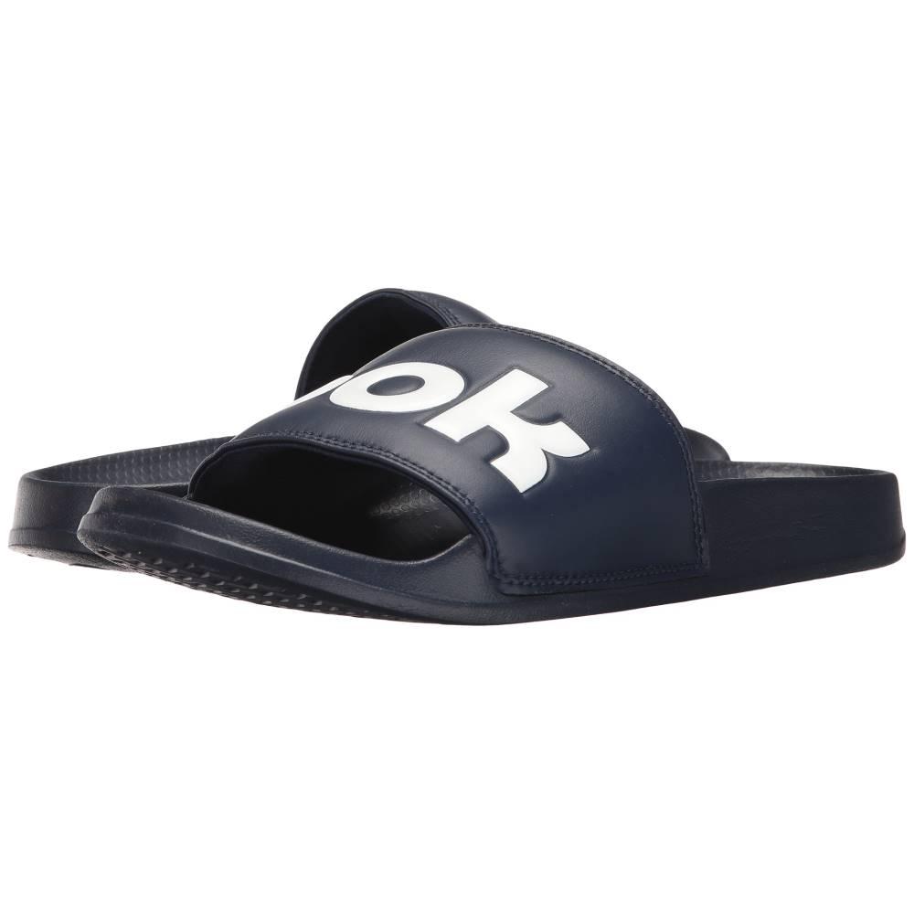 リーボック メンズ シューズ・靴 サンダル【Classic Slide】College Navy/White