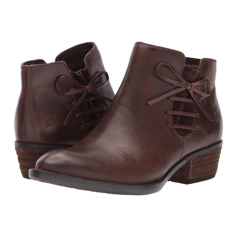 ボーン レディース シューズ・靴 ブーツ【Bowlen】Brown/Dark Brown Combo