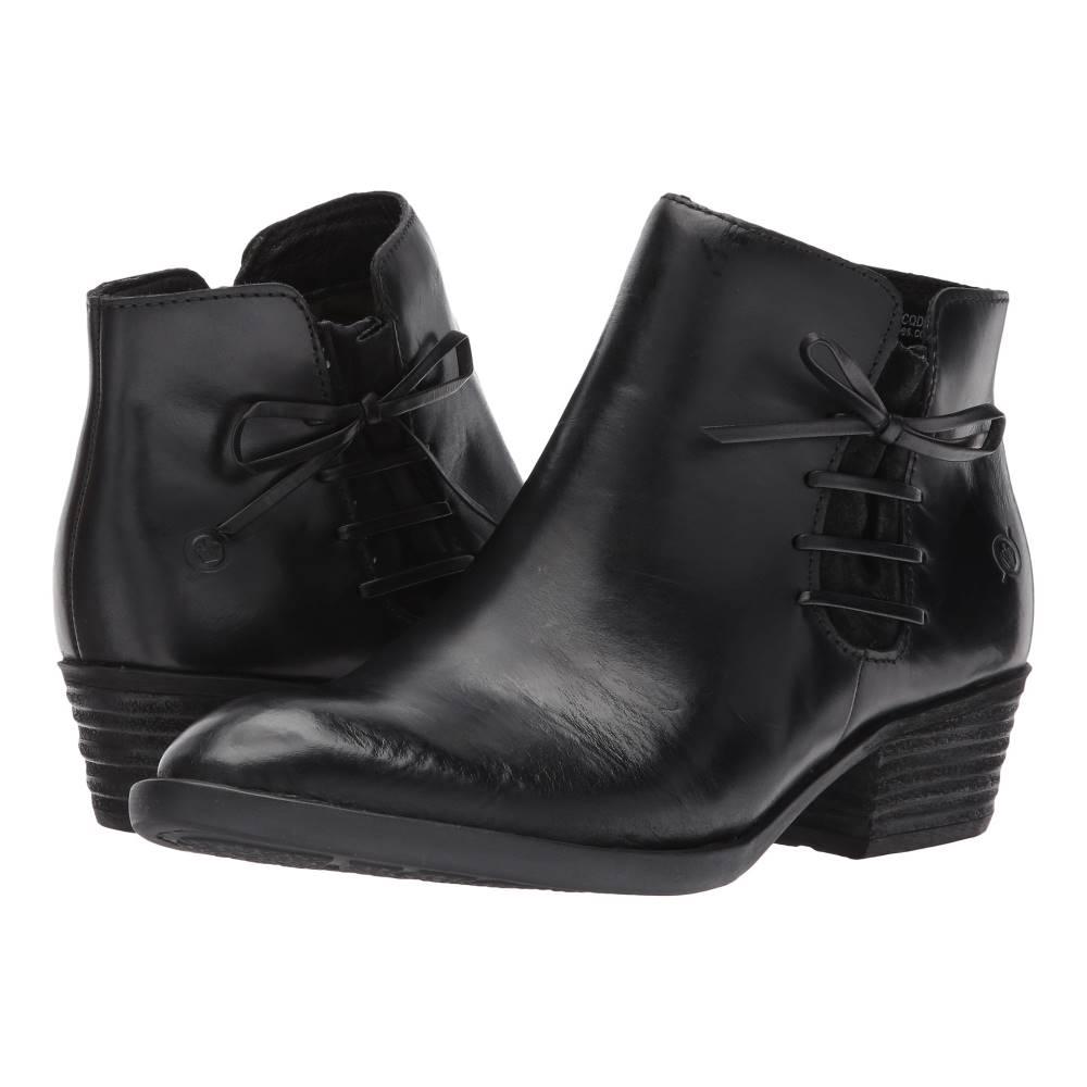 ボーン レディース シューズ・靴 ブーツ【Bowlen】Black/Black Combo