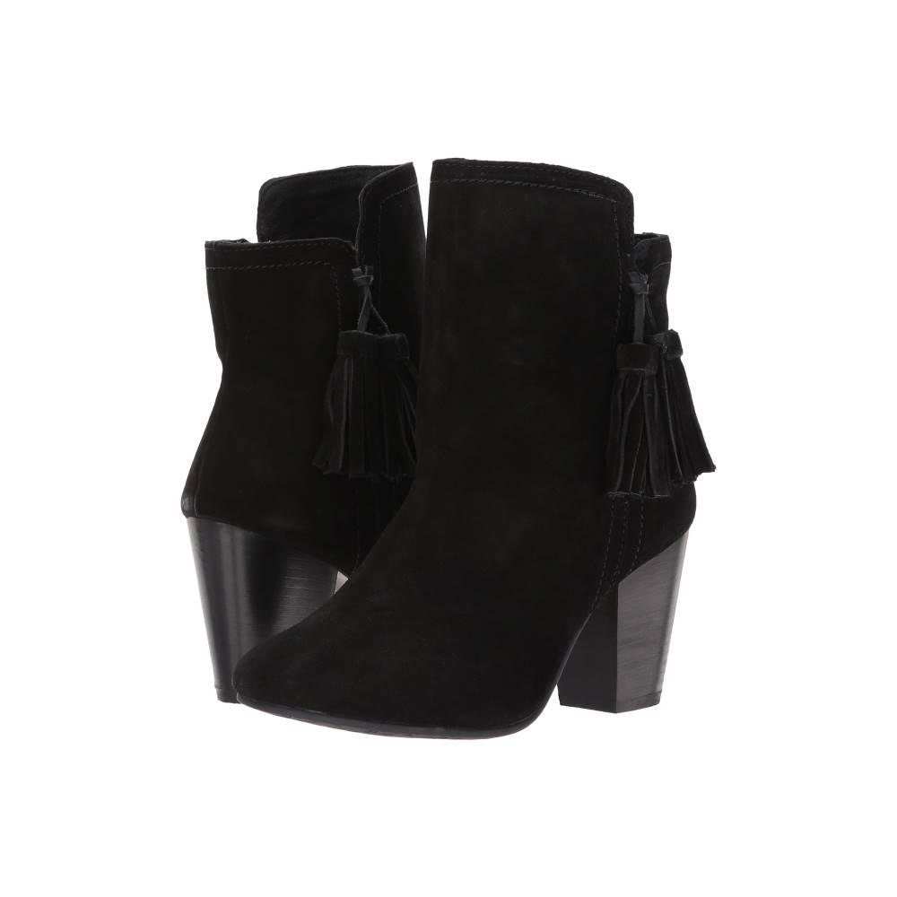 ハッシュパピー レディース シューズ・靴 ブーツ【Daisee Billie】Black Suede