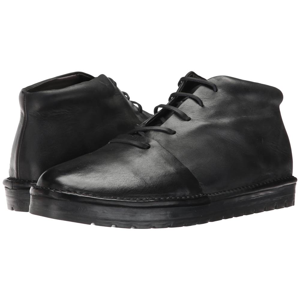 マルセル メンズ シューズ?靴 ブーツ【Gomme Captoe Mid Top】Black
