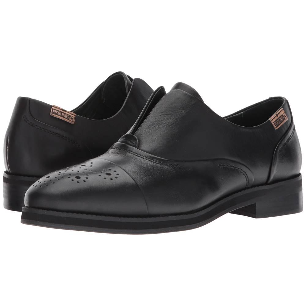 ピコリノス レディース シューズ・靴 ローファー・オックスフォード【Royal W5M-3601】Black
