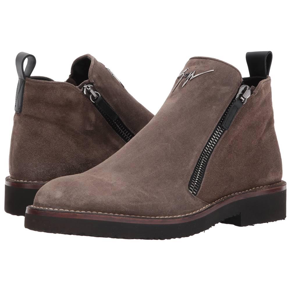 ジュゼッペ ザノッティ メンズ シューズ?靴 ブーツ【Disparr Zipper Boot】Brown