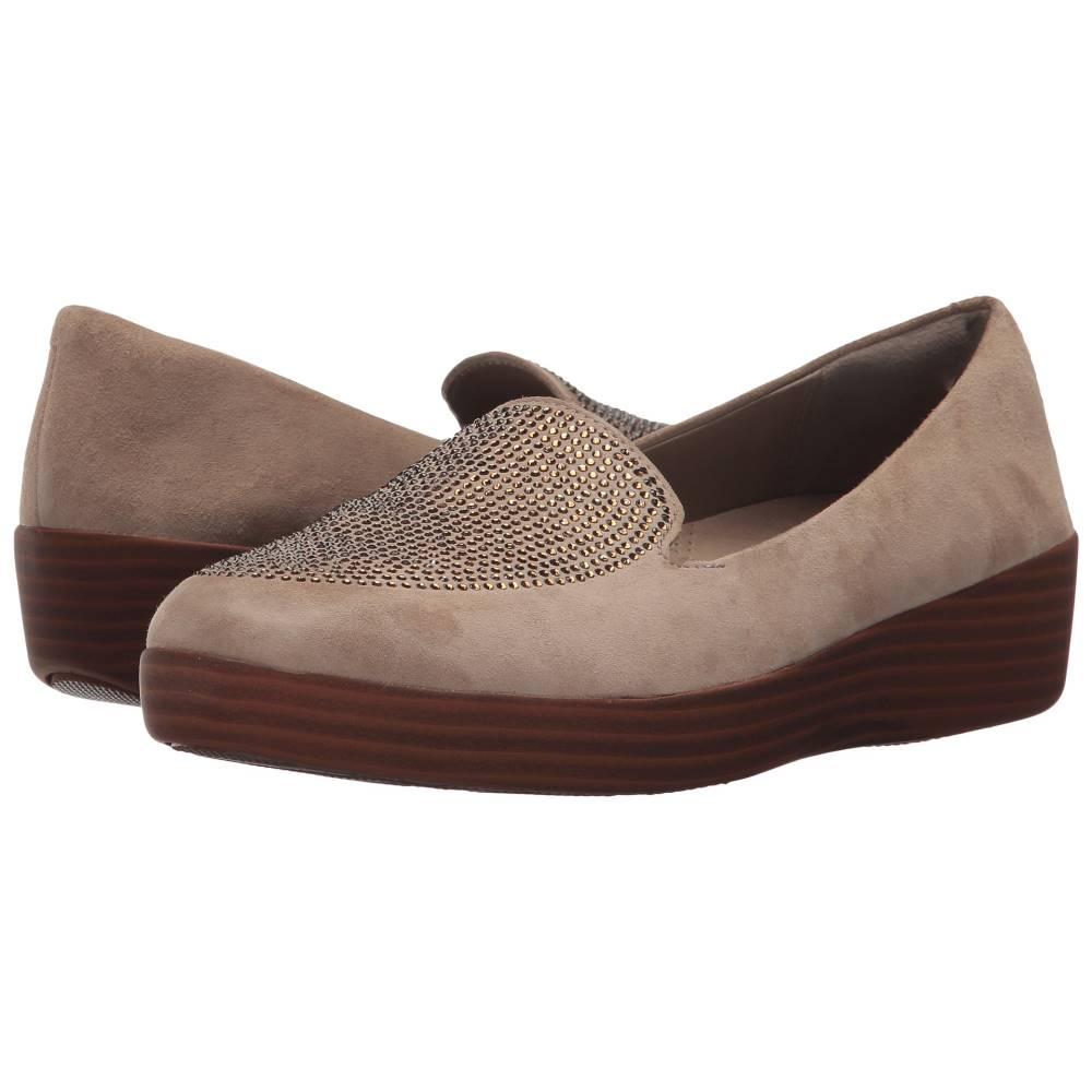 フィットフロップ レディース シューズ・靴 ローファー・オックスフォード【Sparkly Sneakerloafer】Desert Stone