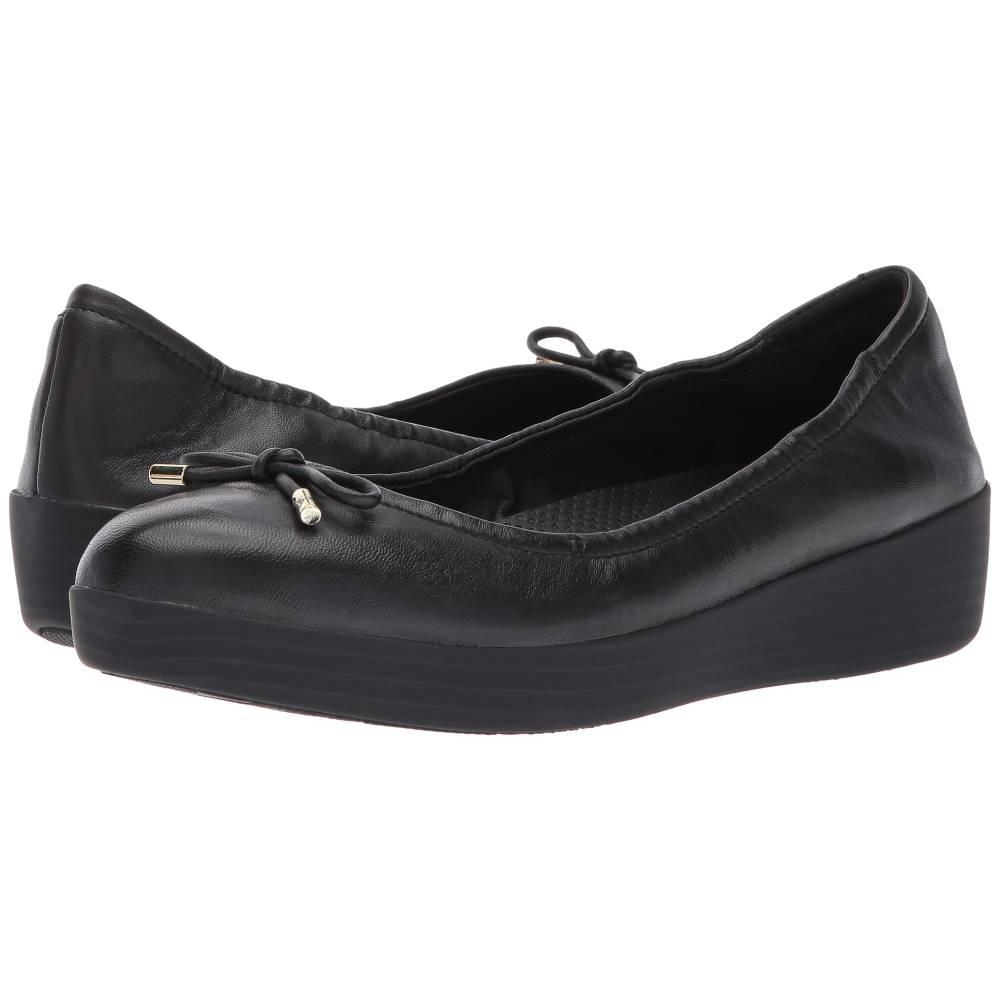 フィットフロップ レディース シューズ・靴 スリッポン・フラット【Superbendy Ballerinas】Black