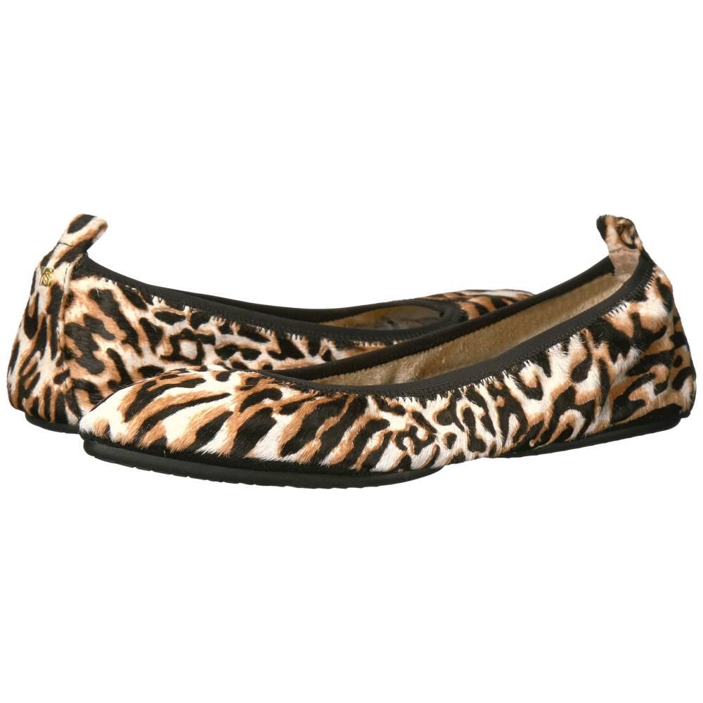 ヨシ サムラ レディース シューズ・靴 スリッポン・フラット【Vienna 2 Flat】Antique White Blurred Leopard Haircalf
