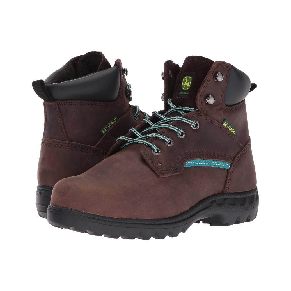 ジョンディア レディース シューズ・靴 ブーツ【6 Internal Metatarsal Lace Up Boot】Gaucho/Turquoise