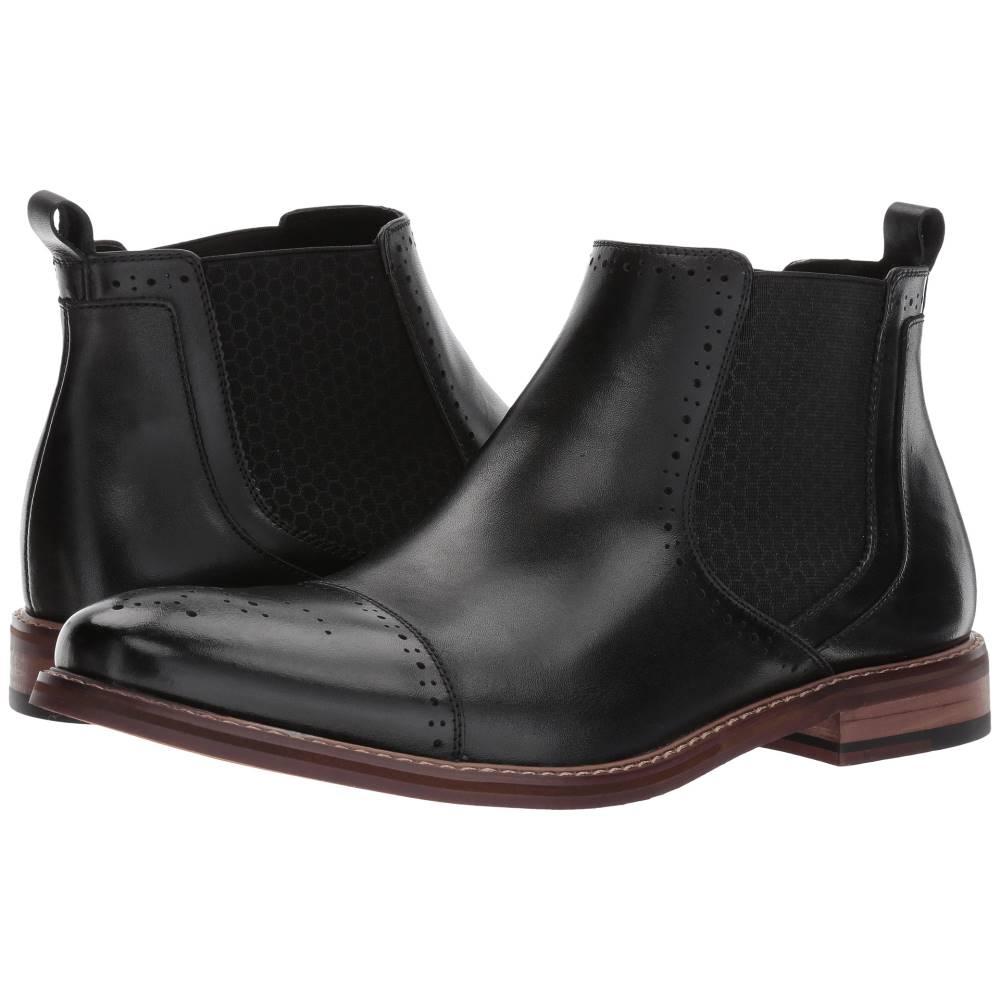 ステイシー アダムス メンズ シューズ・靴 ブーツ【Alomar】Black