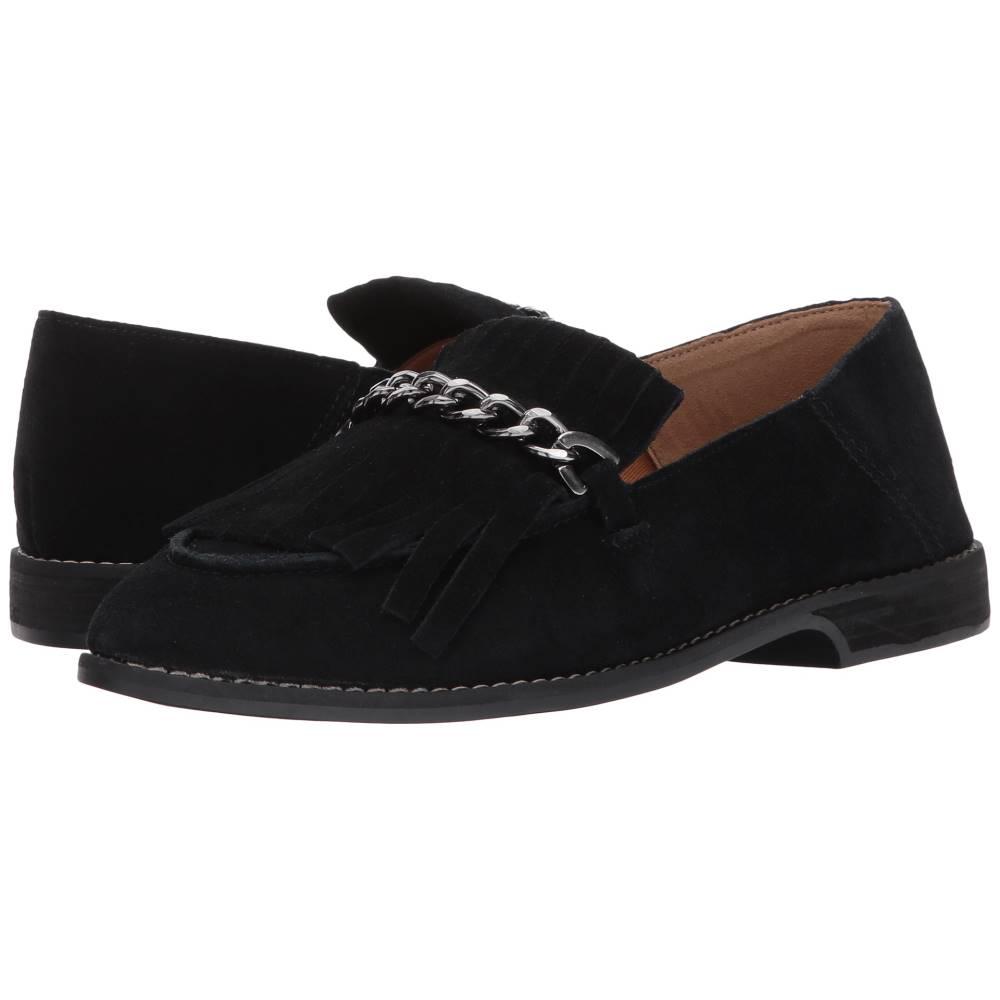 フランコサルト レディース シューズ・靴 ローファー・オックスフォード【Augustine】Black Suede