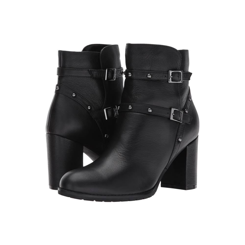 ブロンド レディース シューズ・靴 ブーツ【Analise Waterproof】Black Leather
