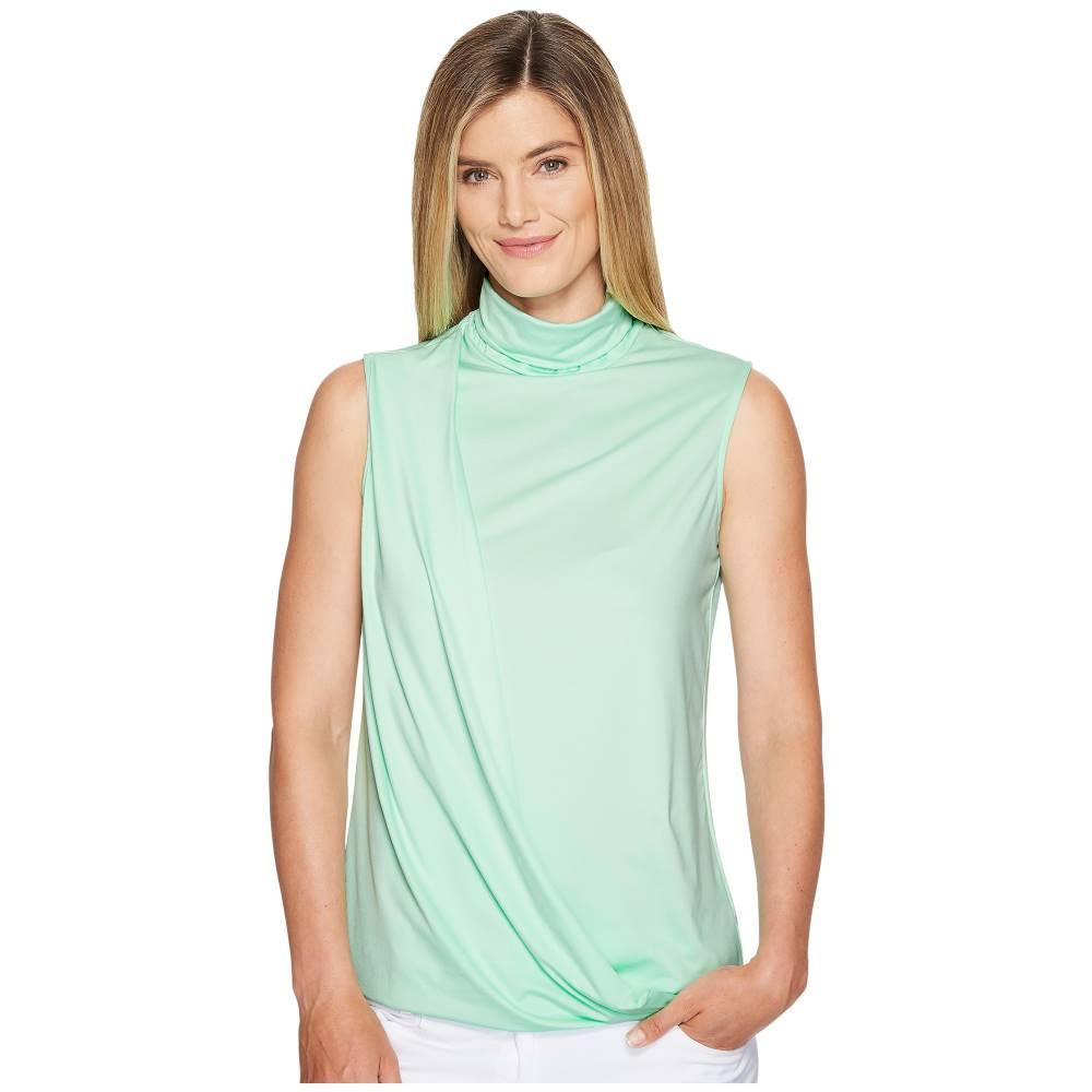 ジェイミー サドック レディース トップス Tシャツ【High Neck Sleeveless Top】Mint Julep