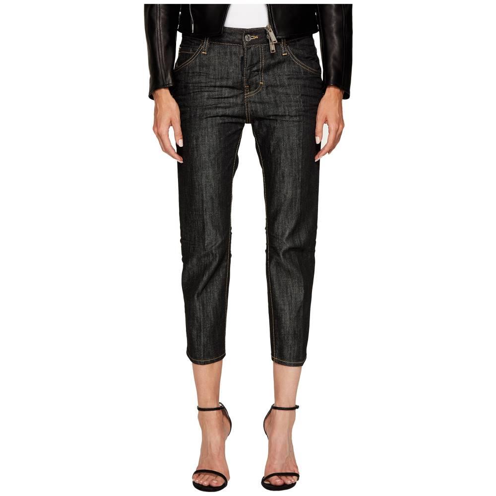 ディースクエアード レディース ボトムス・パンツ ジーンズ・デニム【Vintage Black Wash Cool Girl Cropped Jeans】Black