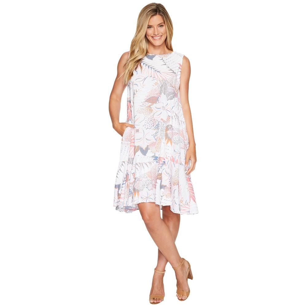 フレッシュプロデュース レディース ワンピース・ドレス ワンピース【Colored Pencils Trapeze Dress】White