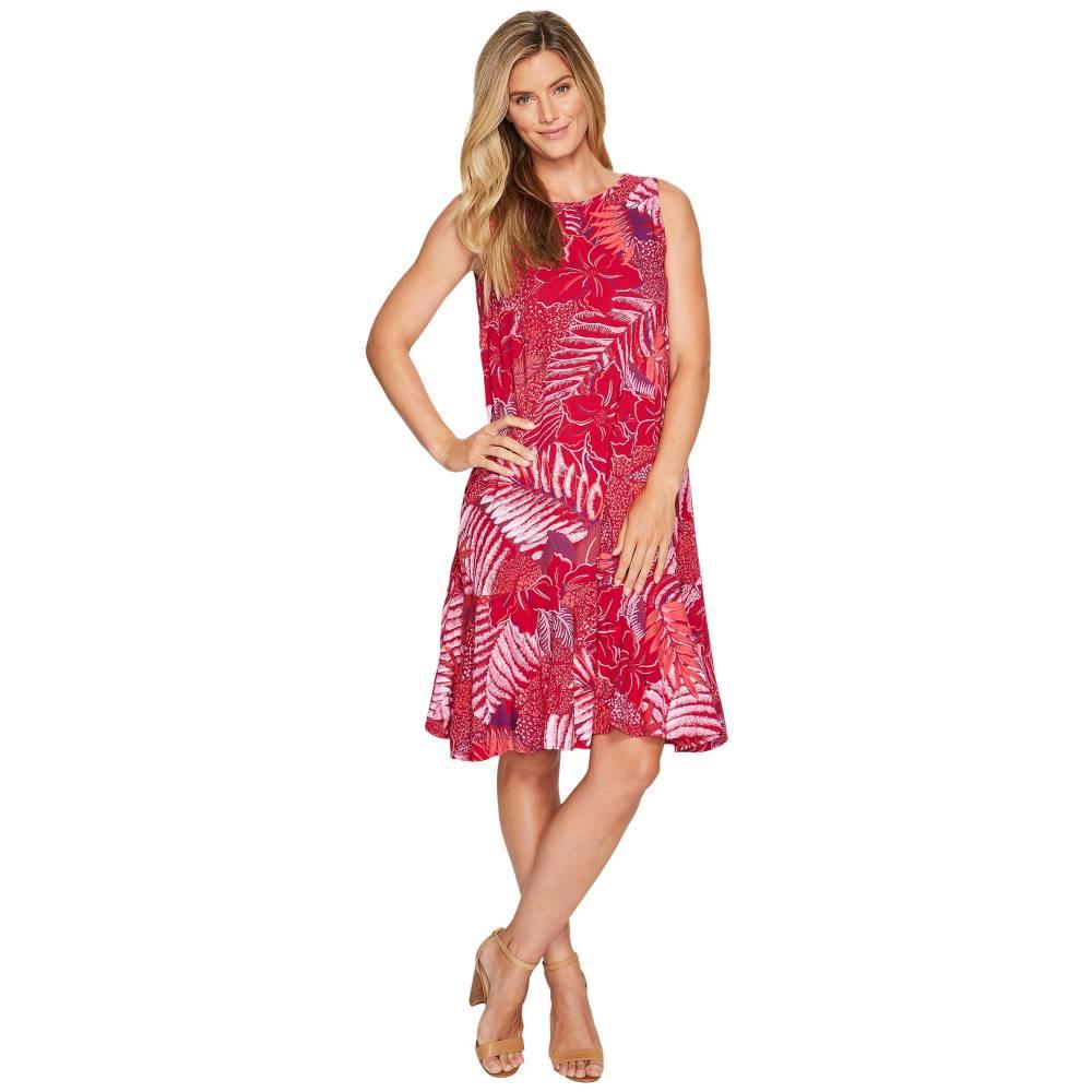フレッシュプロデュース レディース ワンピース・ドレス ワンピース【Colored Pencils Trapeze Dress】Persian Red