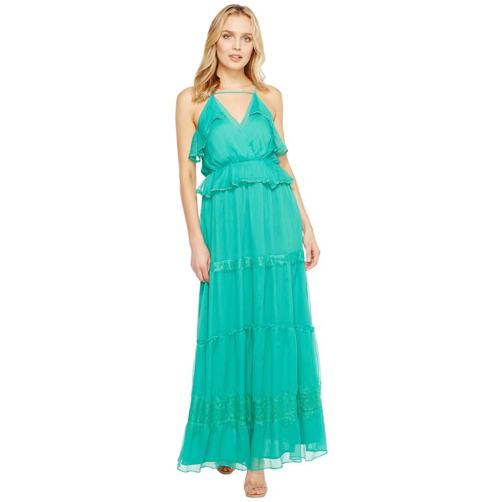 アドレイン ラエ レディース ワンピース・ドレス ワンピース【Venus Frill Maxi Dress】Emerald